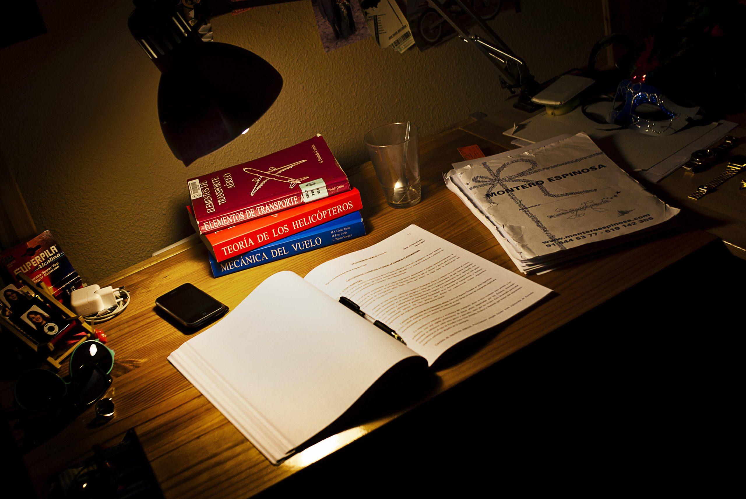 Métodos para concentrarse antes los días de exámenes