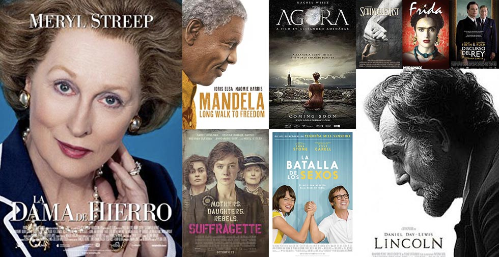 Diez biopics para trabajar biografías en el aula